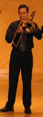 Todd Jacobs, trombone